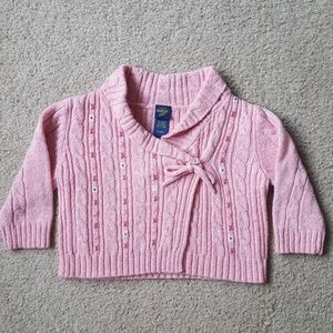 Osh Kosh Pink Wrap Sweater